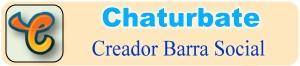 Crear barras con iconos de redes sociales para Chaturbate – Herramienta Online