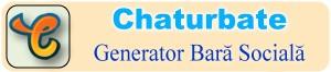 Creator de pictograme social media pentru Bio Chaturbate – Instrument online