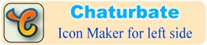 Maker of social media icons for Chaturbate – Online Tool