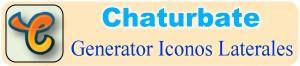 Creador de iconos y botones de redes sociales para Chaturbate – Herramienta Online