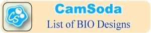 List of designs (bio) already created for CamSoda