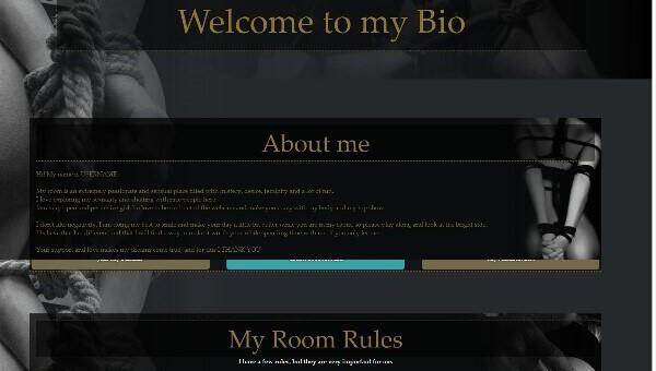 Diseño 8 – perfil Chaturbate ya creado