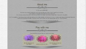 Design 2 – Chaturbate profile already created