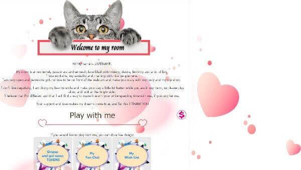 Design 6 – Chaturbate profile already created