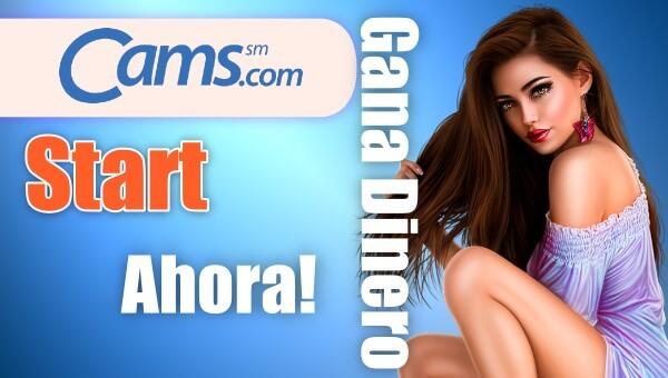 Primeros pasos como modelo webcam en Cams.com