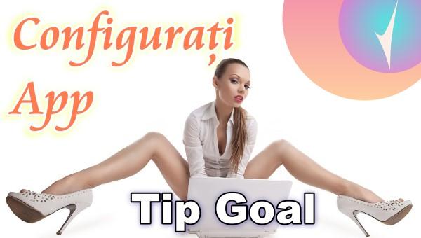 """Configurați aplicația """"Tip Goal"""" în Chaturbate?"""