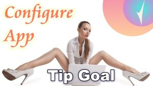 "Set up the ""Tip Goal"" App in Chaturbate?"