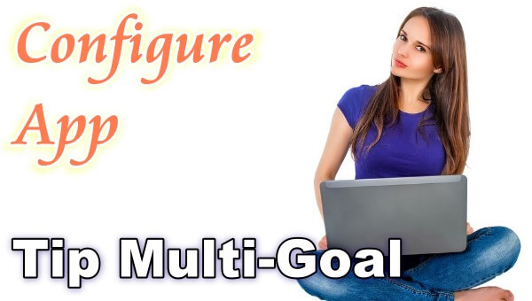 "How to configure the ""Tip Multi-Goal"" App in Chaturbate?"