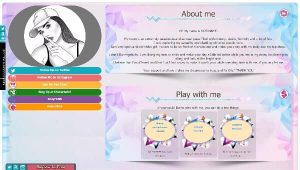 Design 11 – Chaturbate profile already created