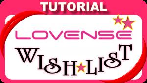 ¿Cómo crear una lista de deseos en Lovense?