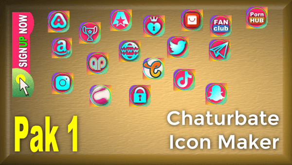 Pak 1 Chaturbate Icon Maker