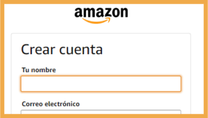 ¿Cómo crear una cuenta en Amazon?