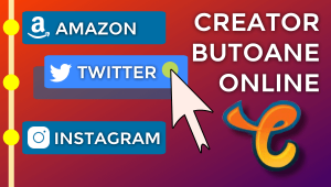 Creator de butoane și pictograme social media pentru Chaturbate – Instrument online