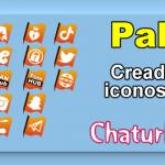 Pak 9 – Creador de iconos y botones de redes sociales para Chaturbate