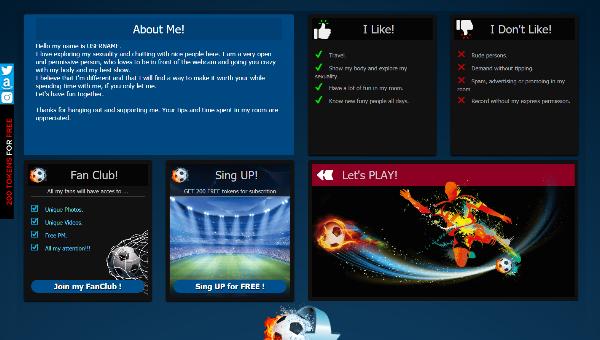 Design 19 – VideoChat profile already created
