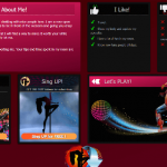 Diseño 20 – perfil VideoChat ya creado