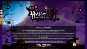 Design 23 – VideoChat profile already created – Special Halloween
