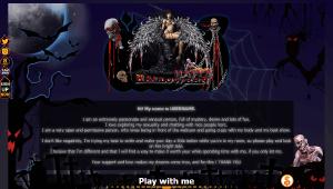 Diseño 24 – perfil VideoChat ya creado – especial Halloween