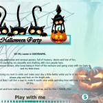 Diseño 25 – perfil VideoChat ya creado – especial Halloween
