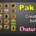 Pak 14 – Generator de butoane și pictograme pentru Chaturbate
