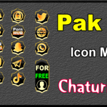 Pak 15 – FREE Chaturbate Social Media Button and Icon Maker