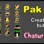 Pak 15 – Generator de butoane și pictograme pentru Chaturbate