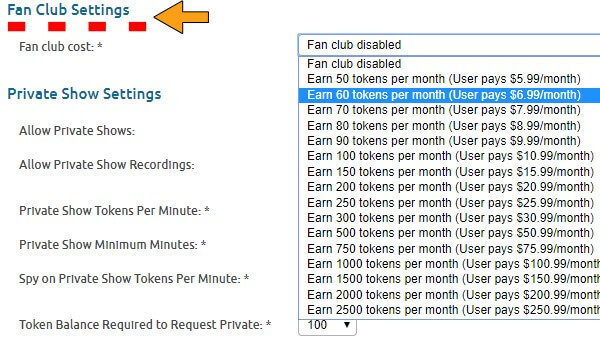 how to activate your Fan Club on Chaturbate 2