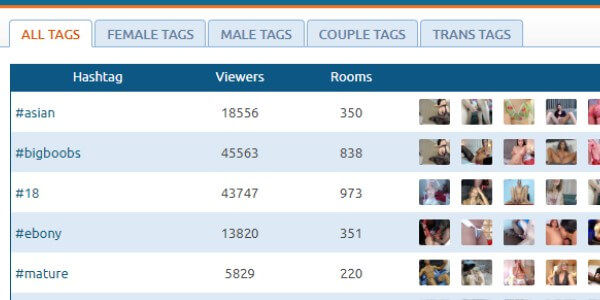 search models on chaturbate