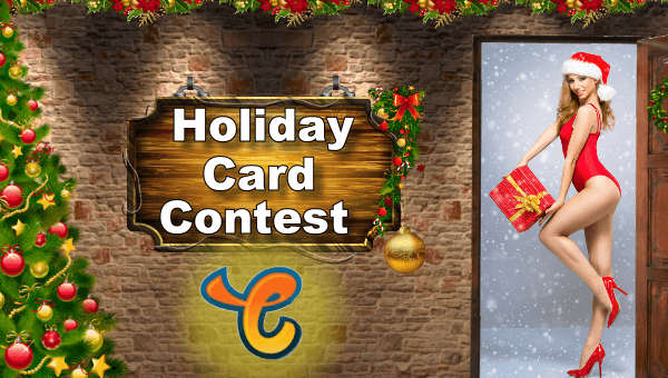 Chaturbate holiday card contest for 2020