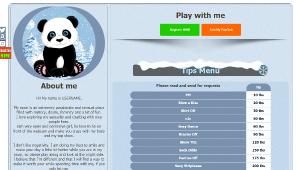 Desen 31 – profil VideoChat deja creat pentru Chaturbate