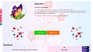 Desen 34 – profil VideoChat deja creat pentru Chaturbate