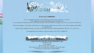 Design 30 – Chaturbate BIO profile already created