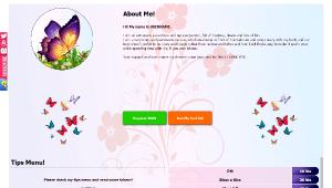 Design 34 – Chaturbate BIO profile already created