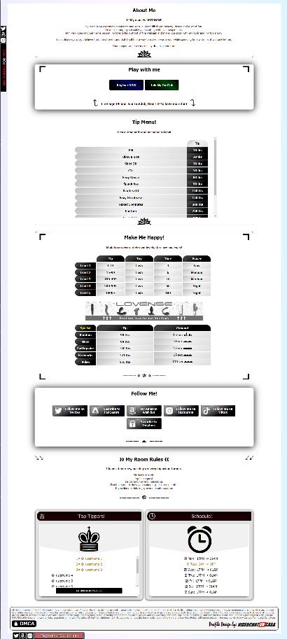Diseño 28 - perfil Chaturbate