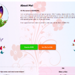 Diseño 34 – perfil VideoChat Chaturbate ya creado