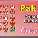 Pak 18 – Generador de iconos y botones de redes sociales para Chaturbate