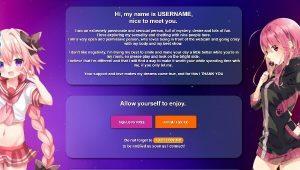 Design 41 – Chaturbate BIO profile already created