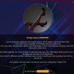 Design 42 – Chaturbate BIO profile already created