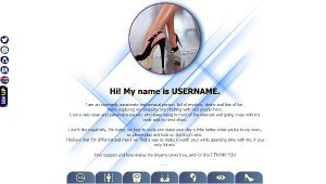 Diseño 43 – perfil VideoChat Chaturbate ya creado