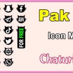 Pak 25 – FREE Chaturbate Social Media Button and Icon Maker