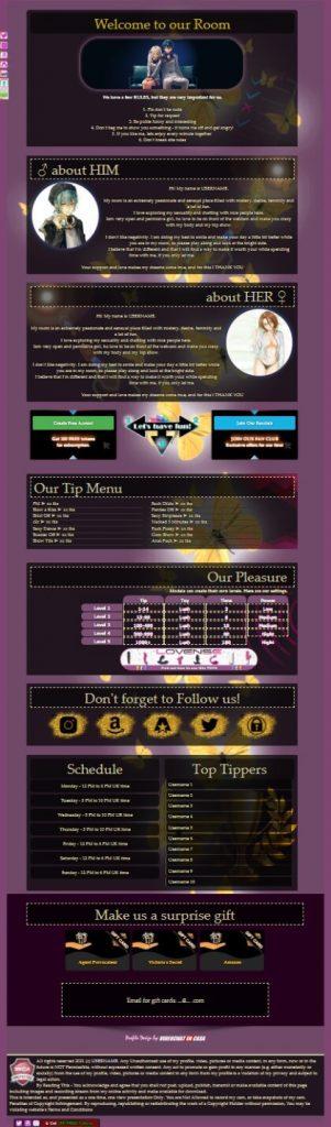 Demo 51 Chaturbate BIO profile