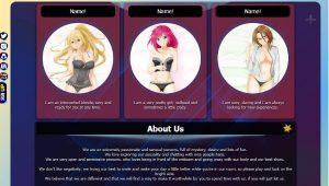 Design 49 – Chaturbate BIO profile already created