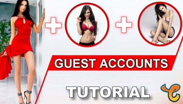 How to Create Guest Accounts in Chaturbate?