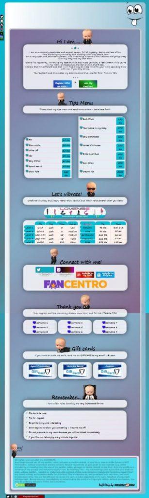 Demo 57 - creați profil de Chaturbate în doar câteva secunde