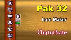 Pak 32 – FREE Chaturbate Social Media Button and Icon Maker