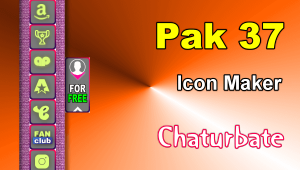Pak 37 – FREE Chaturbate Social Media Button and Icon Maker