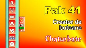 Pak 41 – Generator de butoane și pictograme pentru Chaturbate