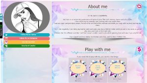 CamSoda Diseño 11 – codigo ya creado para tu biografia VideoChat CamSoda