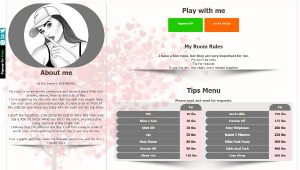 CamSoda Diseño 12 – codigo ya creado para tu biografia VideoChat CamSoda