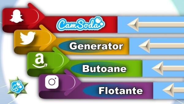 CamSoda – Generator de butoane și pictograme social media pentru biografie – Instrument online